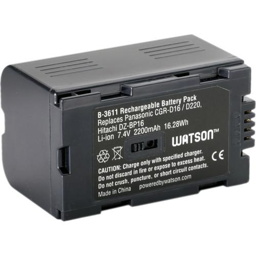 Watson CGR-D16 Lithium-Ion Battery Pack (7.4 V, 2200mAh) B-3611