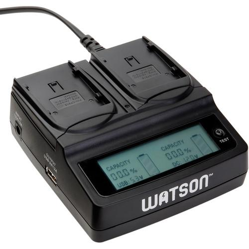 Watson Duo LCD Charger for BP-900 Series Batteries D-1511
