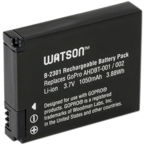 Watson Lithium-Ion Battery Pack for GoPro Cameras B-2301