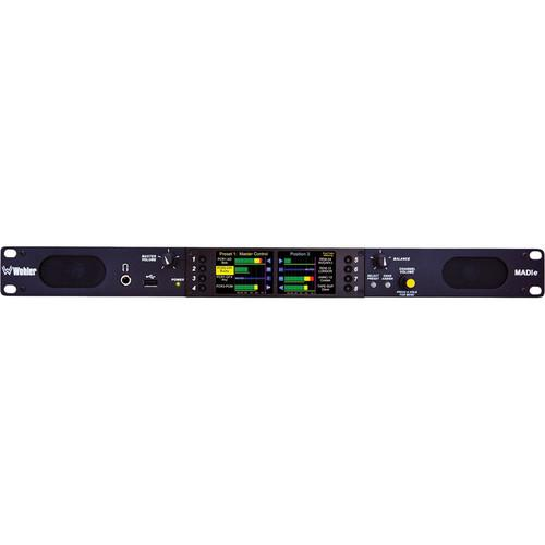 Wohler AMP1-MADIe-MM In-Rack MADI Audio Monitor AMP1-MADIE-MM