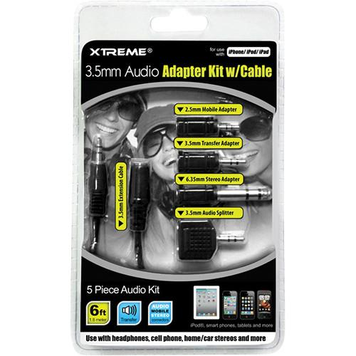 Xtreme Cables 3.5mm Audio Adapter Kit with Cable 50655