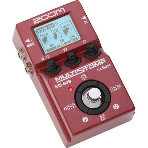 Zoom  MS-60B MultiStomp Bass Pedal ZMS-60B