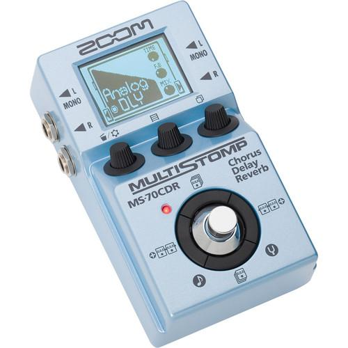 Zoom MS-70CDR MultiStomp Chorus/ Delay/ Reverb Pedal ZMS-70CDR