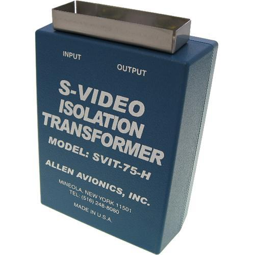 Allen Avionics S-VIT-75-H S-Video Hum Eliminator S-VIT-75-H