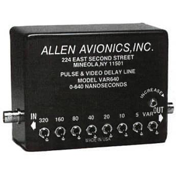 Allen Avionics VAR640 Variable Video Delay, Composite VAR640