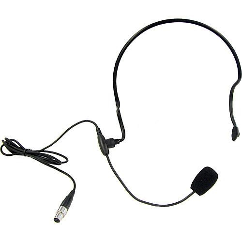 Anchor Audio HBM-TA4F- Headband Microphone with TA4F HBM-TA4F