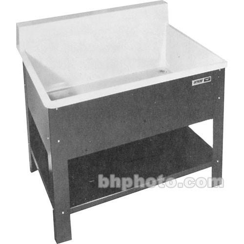 Arkay Fiberglass Rack Cleaning Deep Sink RCS304814