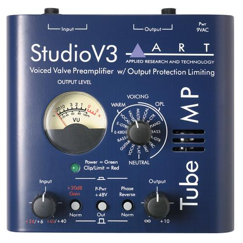ART Tube MP Studio V3 Microphone Preamp TUBE MP STUDIO V3