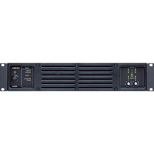 Ashly ne1600 Network-Enabled Stereo Power Amplifier NE1600