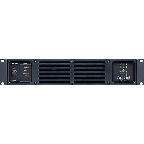 Ashly ne2400 Network-Enabled Stereo Power Amplifier NE2400