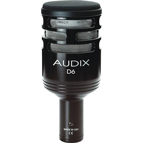 Audix  D6 - Kick Drum Microphone D6