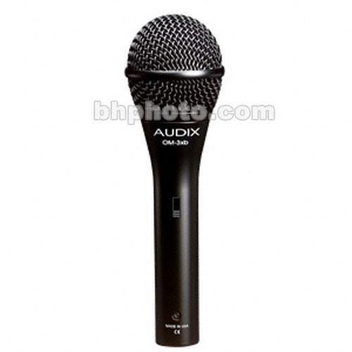Audix OM3S - Hyper-Handheld Microphone with On/Off Switch OM3-S