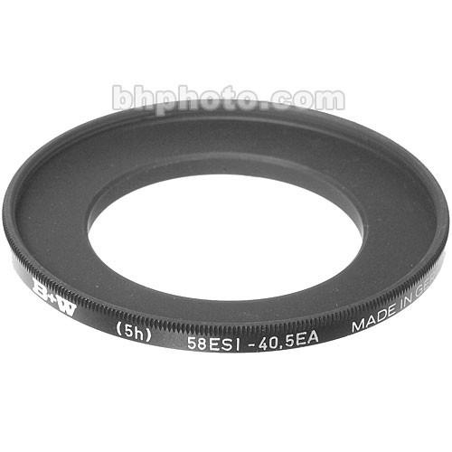 B W  40.5-58mm Step-Up Ring 65-069465