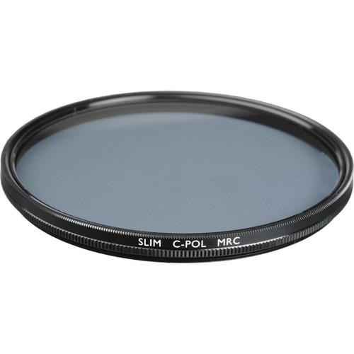 B W 55mm Circular Polarizer Slim MRC Filter 66-026593