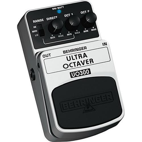 Behringer UO300 Ultra Octave Stompbox Effect Pedal UO300