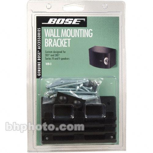 Bose  WB-3 Bookshelf Speaker Wall Brackets 18423