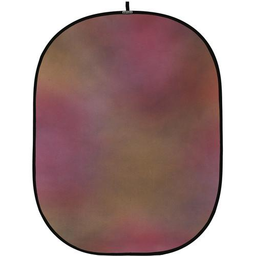 Botero #002 CollapsibleBackground (5x7') (Maroon, Orange) C00257