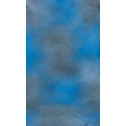 Botero #004 Muslin Background (10x12', Blue, Gray) M0041012