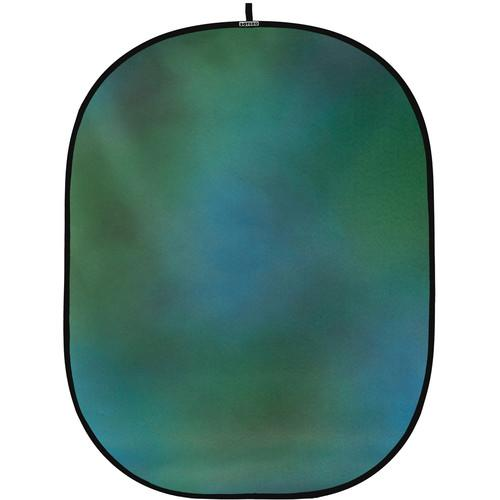 Botero #009 CollapsibleBackground (5x7') (Green, Blue) C00957