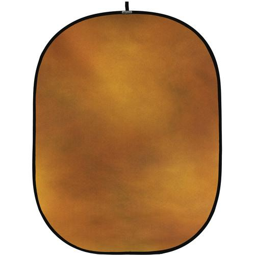 Botero #010 CollapsibleBackground (5x7') (Gold, Brown) C01057