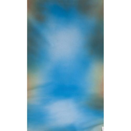 Botero #015 Muslin Background (10x24', Blue, Green) M0151024