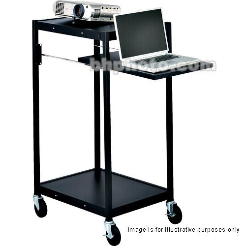 Bretford Compact Mobile Projector Cart ECILS2M-BK