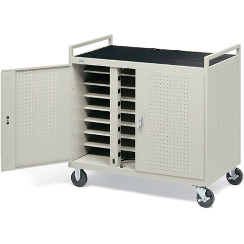 Bretford Laptop Computer Storage Cart for 24 Units LAP24EFR-GM
