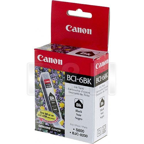 Canon  BCI-6BK Black Ink Tank 4705A003