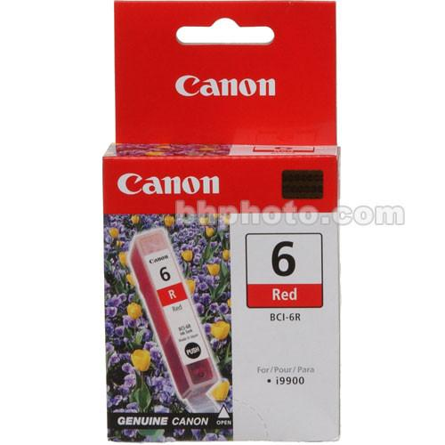 Canon  BCI-6R Red Ink Tank 8891A003