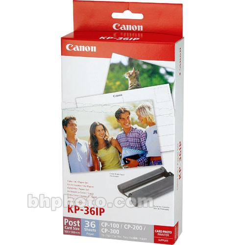 Canon KP-36IP Color Ink & Paper Set 7737A001AH