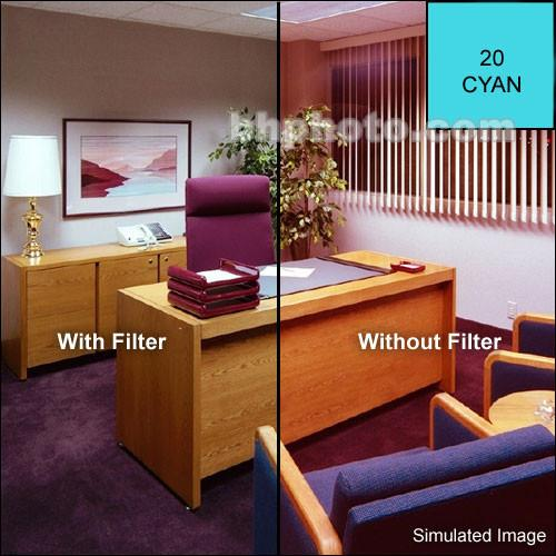 Cokin A709 Color Compensating CC50C (Cyan) Resin Filter CA709