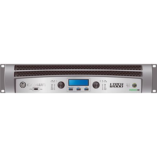 Crown Audio I-T12000HD Rackmount Stereo Power I-T12000 HD