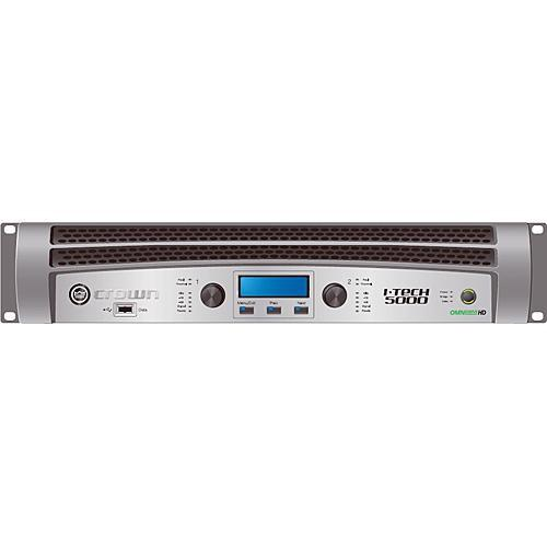 Crown Audio I-T5000HD Rackmount Stereo Power I-T5000 HD