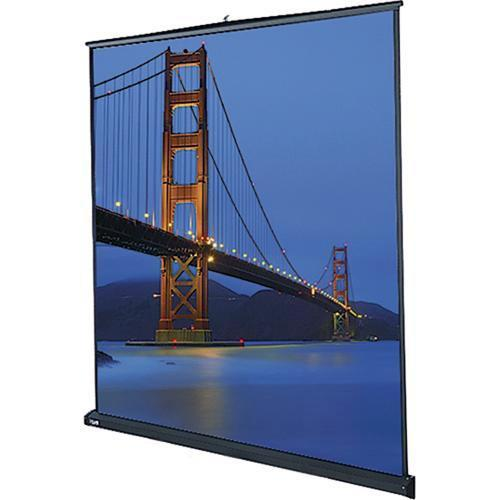 Da-Lite 40258 Floor Model C Manual Front Projection Screen 40258