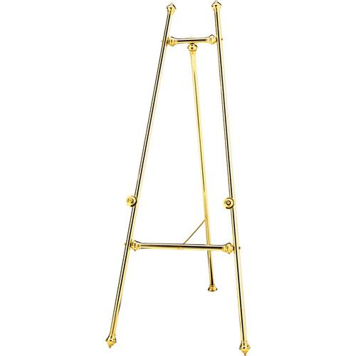 Da-Lite  Polished Plain Brass Easel 43167