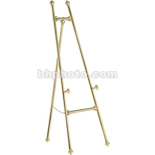 Da-Lite  Swirled Brass Display Easels 43168 43168