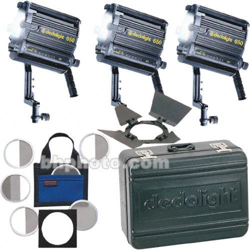 Dedolight  Basic 3-Light Kit K3X650-B