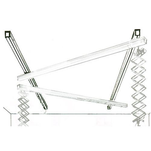 Delta 1  Fixed Ceiling Rail - 6' (1.82 m) 40652