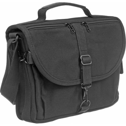 Domke F-802 Reporter's Satchel Shoulder Bag (Black) 701-82B