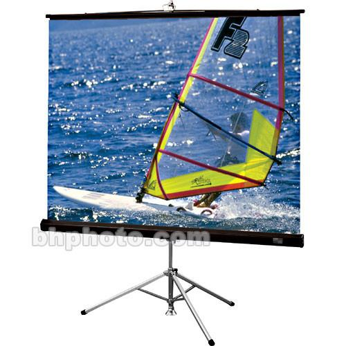 Draper Diplomat Portable Tripod Screen - 84 x 84
