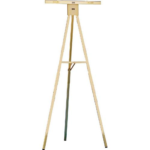 Draper Gold Anodized 6' Folding Poster Easel, DR250 350048