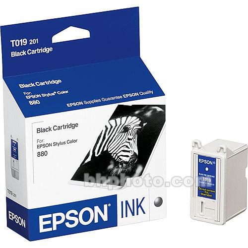 Epson Black Cartridge for Epson Stylus Color 880 T019201