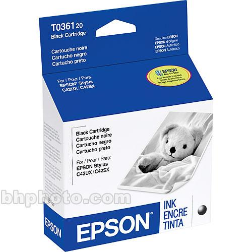 Epson  Black Ink Cartridge T036120