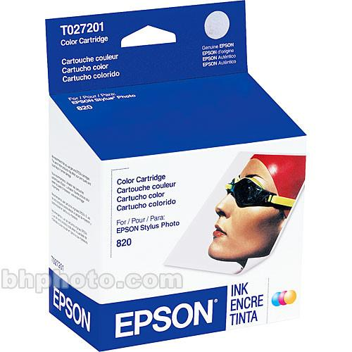 Epson  Color Ink Cartridge T027201