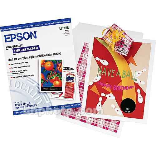 Epson High Quality Inkjet Paper 8.3x11.7