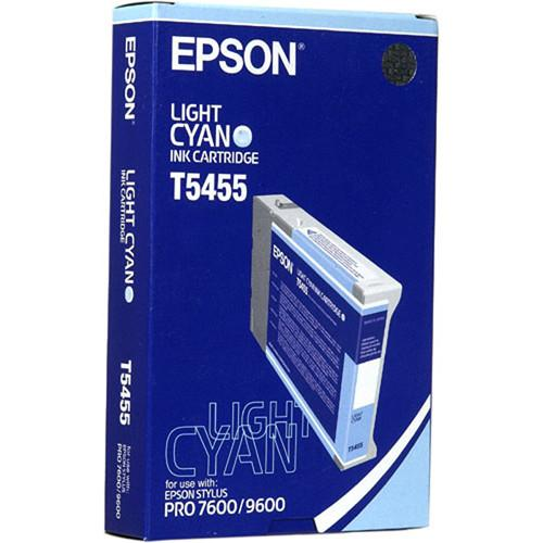 Epson Photographic Dye, Light Cyan Ink Cartridge T545500