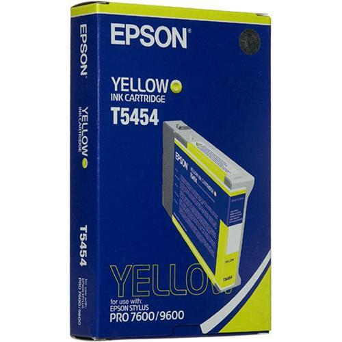 Epson Photographic Dye, Yellow Ink Cartridge for Stylus T545400