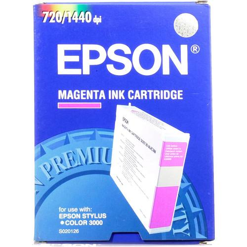 Epson  S020126 Magenta Ink Cartridge S020126