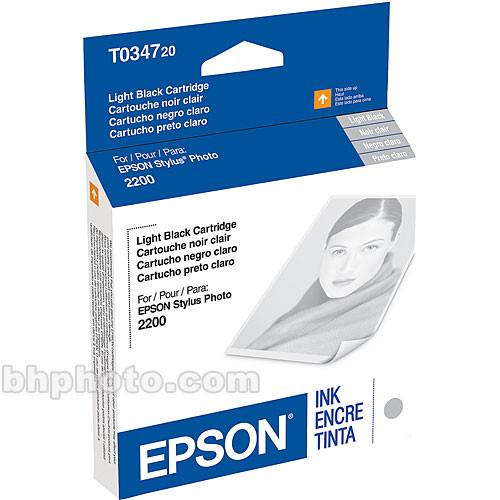 Epson UltraChrome Light Black Ink Cartridge T034720