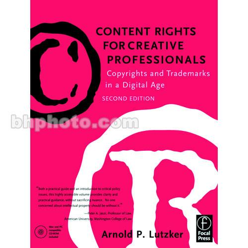Focal Press Book: Content Rights for Creative 9780240804842